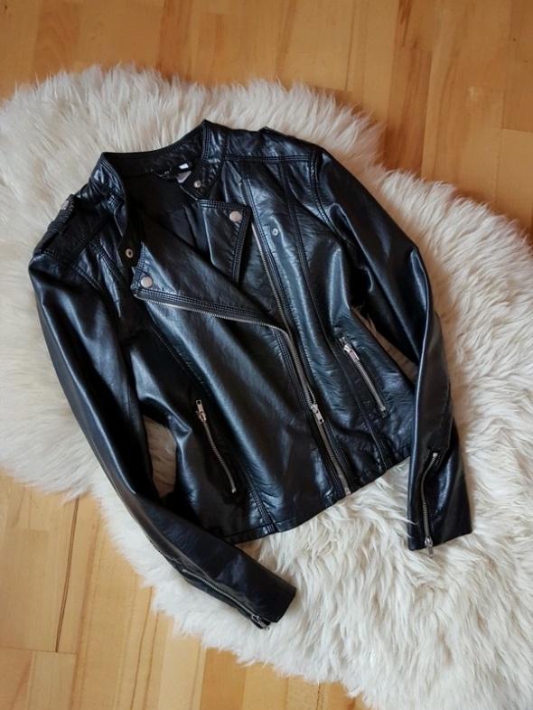 Czarna ramoneska kurtka H&M 36 38...