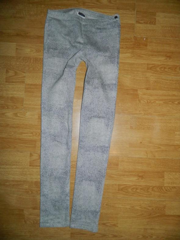 PIECES świetne rurki tregginsy spodnie roz 36...