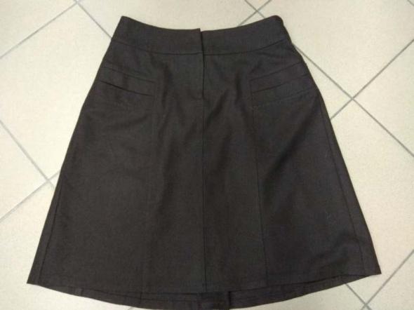 Brązowa spódnica wełna wełniana Reserved 40 L