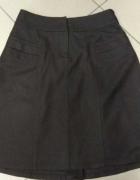 Brązowa spódnica wełna wełniana Reserved 40 L...