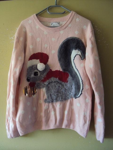 sweterek z wiewiórka