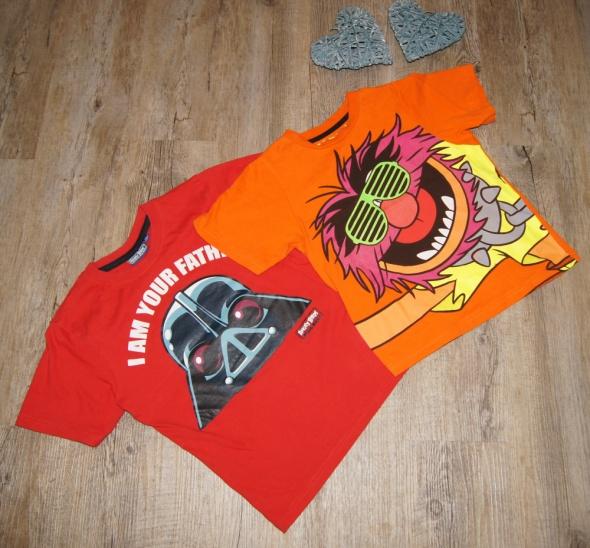Bluzeczka koszulka zestaw Zwierzak Angry Birds Star Wars rozm 122 128