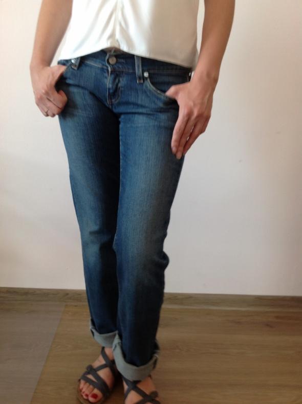 Levis spodnie niebieski jeans