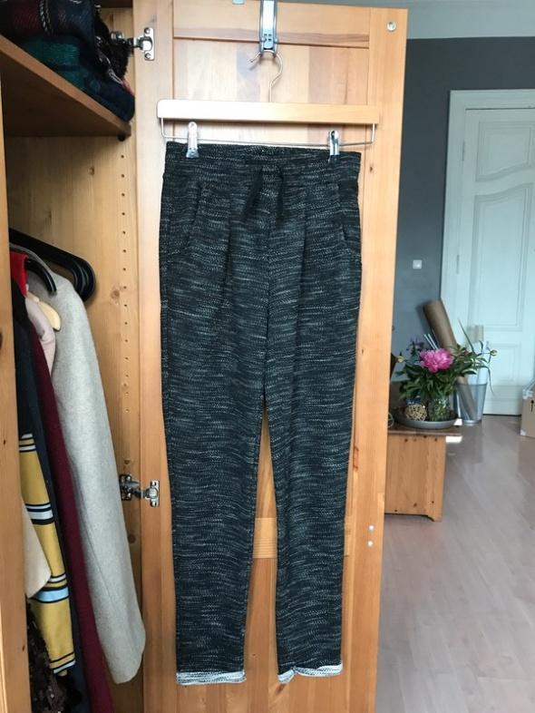 Spodnie dresowe dresy szare melanż 34 XS...
