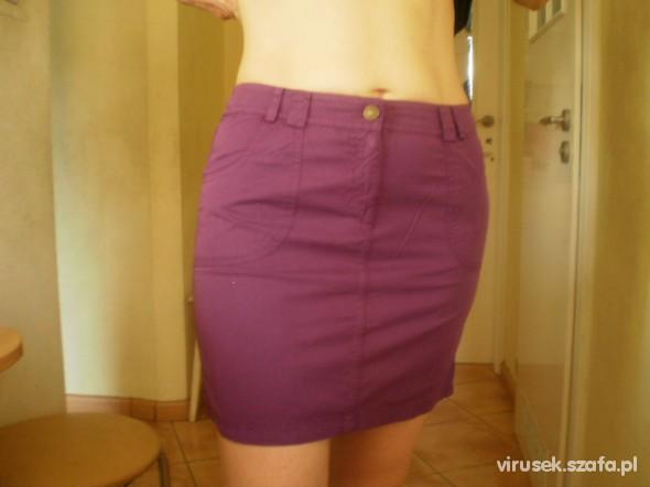 Spódnice NOWA spódnica fioletowa
