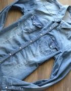 H&M jeansowa dżinsowa koszula napy 40 42...