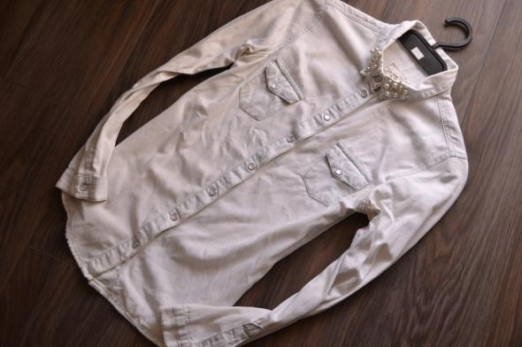 NEW LOOK jeansowa dżinsowa koszula napy 34 36