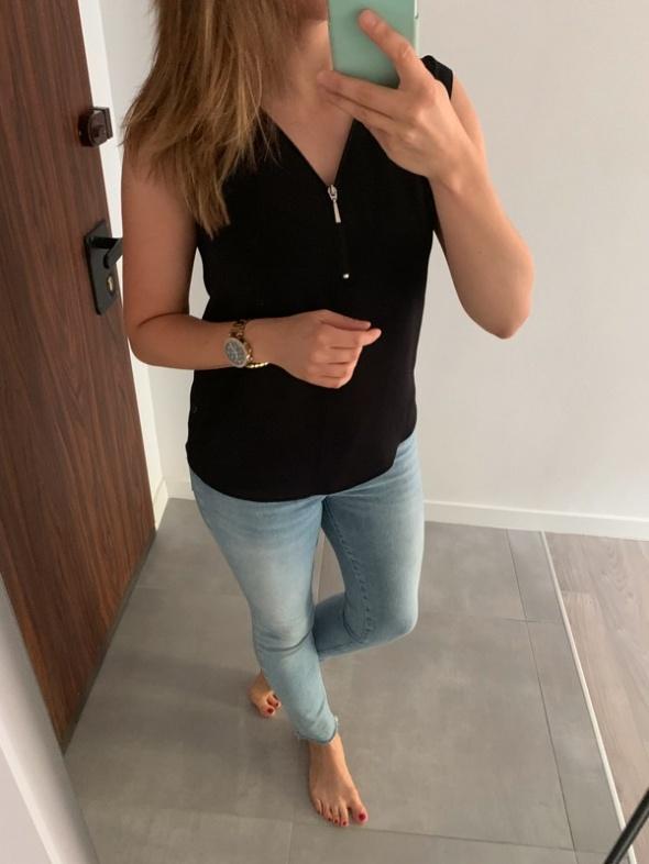 Yessica bluzka elegancka z zipem M