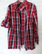 Bluzka koszulowa krata...