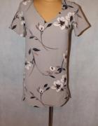 Beżowa tunika sukienka next kwiaty Rozmiar 34...