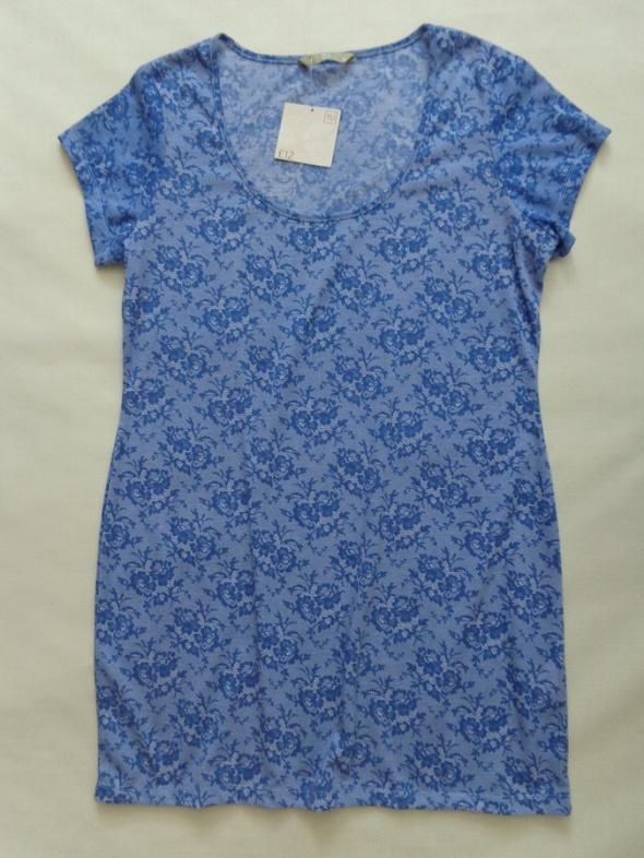 NOWA TU tunika sukienka blue 44 46