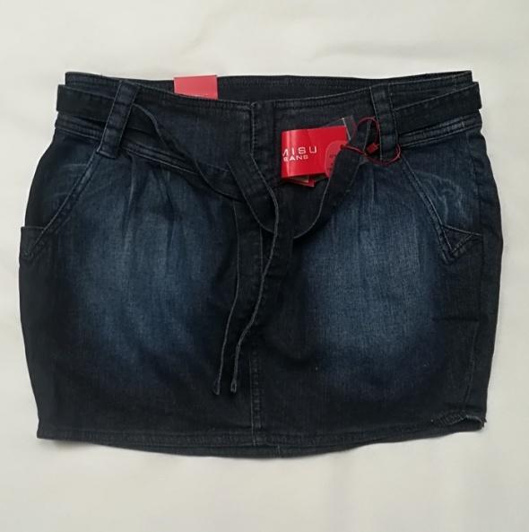 Amidu mini spódnica jeansowa M