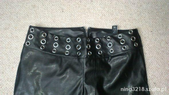 Super spodnie z pasem