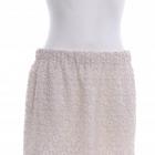 H&M koronkowa spódnica mini ecru r 34 36