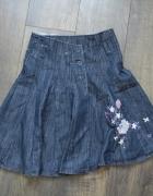 Spódnica rozloszowana modna 140 NOWA...