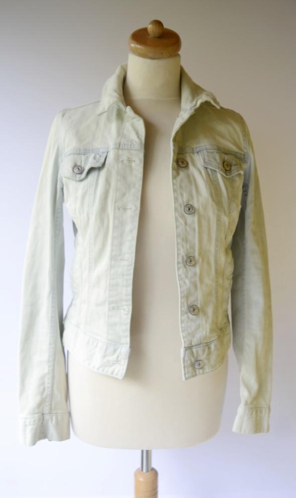 Kurtka Katanka Dzinsowa H&M S 36 Niebieska Dzins Jeans