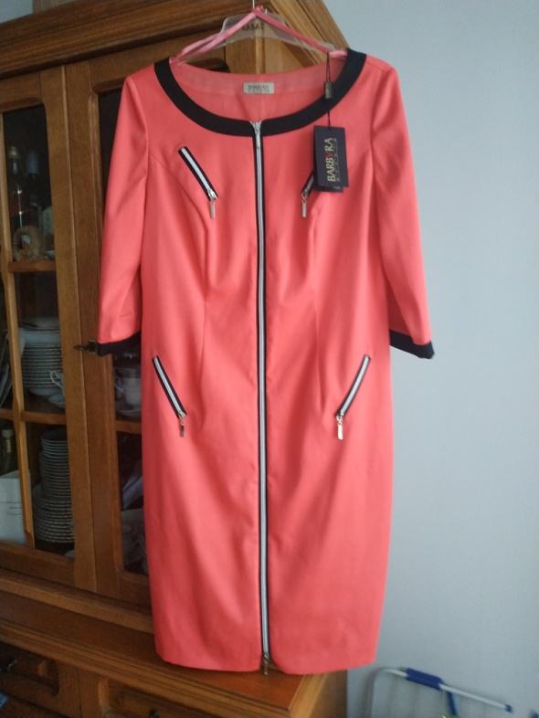 Suknie i sukienki Malinowa sukienka r 44