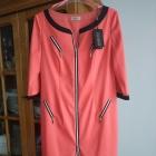 Malinowa sukienka r 44