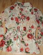 Koronkowa bluzeczka w kwiaty M...