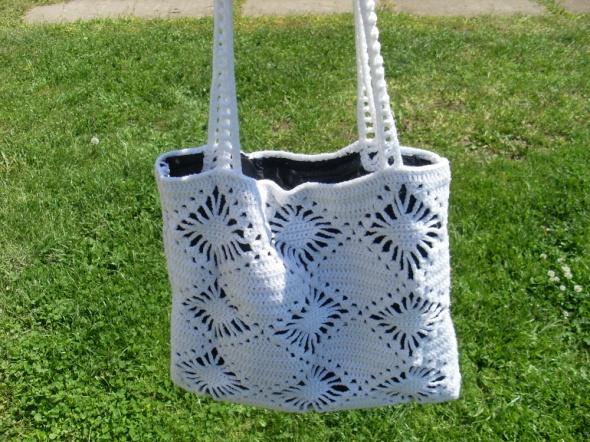 Nowa torebka torba szydełkowa rękodzieło worek kolory