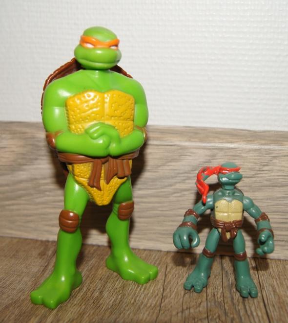 Zestaw figurki kolekcja Żółwie Ninja