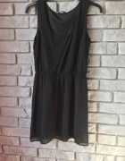 Czarna sukienka na ramiączkach House 36...