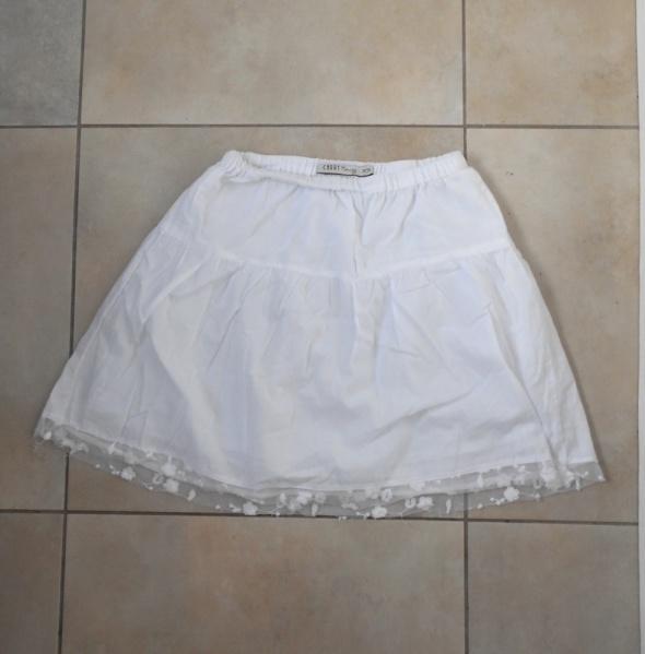 Carry nowa spódniczka biała koronka