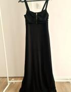 Czarna klasyczna sukienka maxi dress H&M...