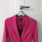 Różowa marynarka H&M