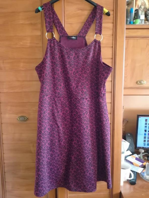 YOURS dzianinowa sukienka dla puszystej 50 52