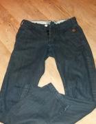 Spodnie Jeans Czarne Cropp...