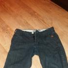 Spodnie Jeans Czarne Cropp