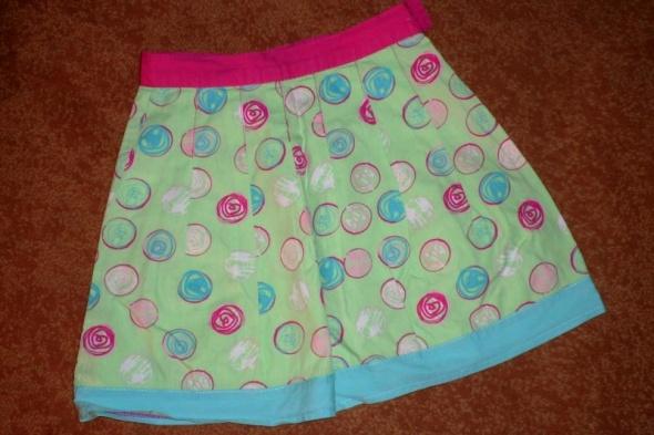 Sukienki i spódniczki rozm 116 spódniczka na lato 5 10 15