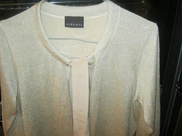 sweterek z wiązaniem rozmiar 40