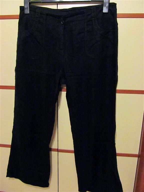 granatowe spodnie Marks&Spencer 44