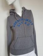 Abercrombie Fitch szara sportowa bluza XsS 34 36