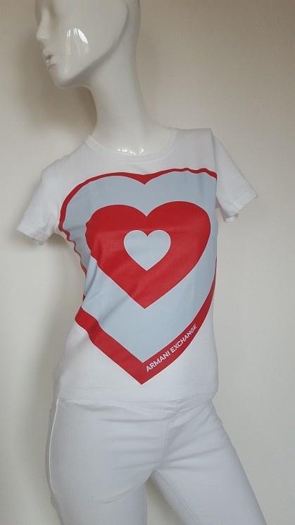 Armani Exchange bawełniana bluzka xs s
