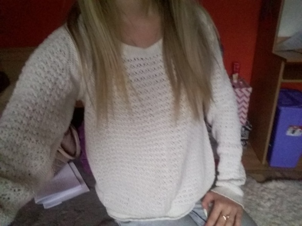 Swetry Sweterek Crop rozmiar xs s