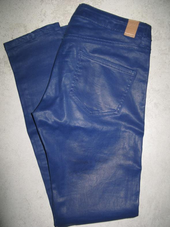 MANGO niebieskie spodnie damskie roz 38