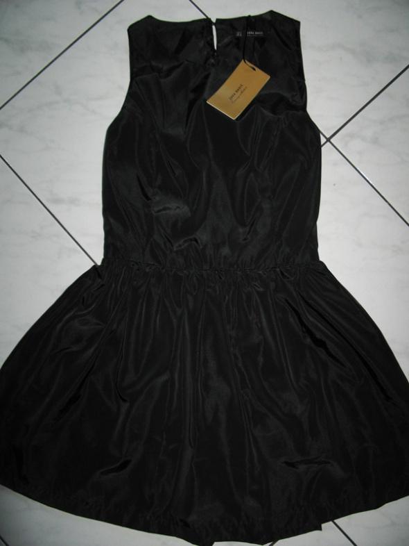 ZARA czarna sukienka ze spodenkami roz 36