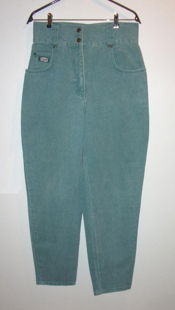 Spodnie jeansowe z wysokim stanem vintage