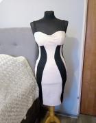 Dopasowana sukienka wyszczuplająca D...