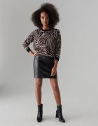Mohito sweter zebra wełna lurex 36 S...