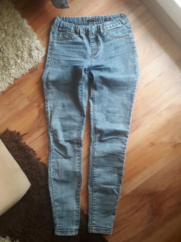 Spodnie spodnie na gumce reserved