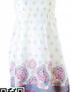 ESOTIQ Equado tunika sukienka 100 procent bawełna odpinane ramiączka rozm M