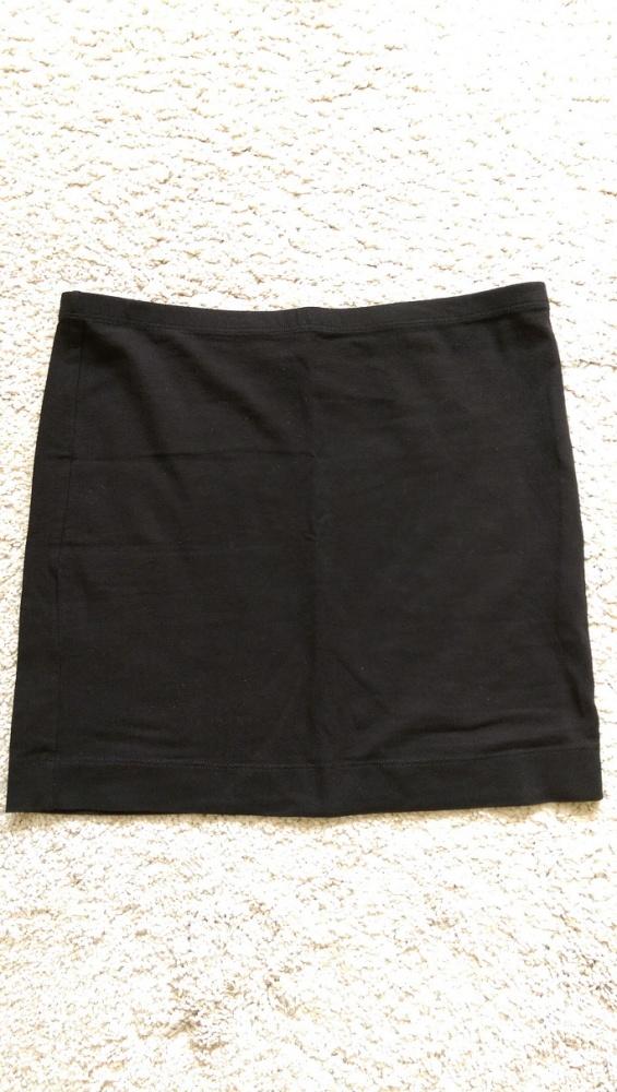 Spódniczka spódnica krótka mini czarna HM rozm M