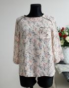 rózowa bluzka w wzory Primark...