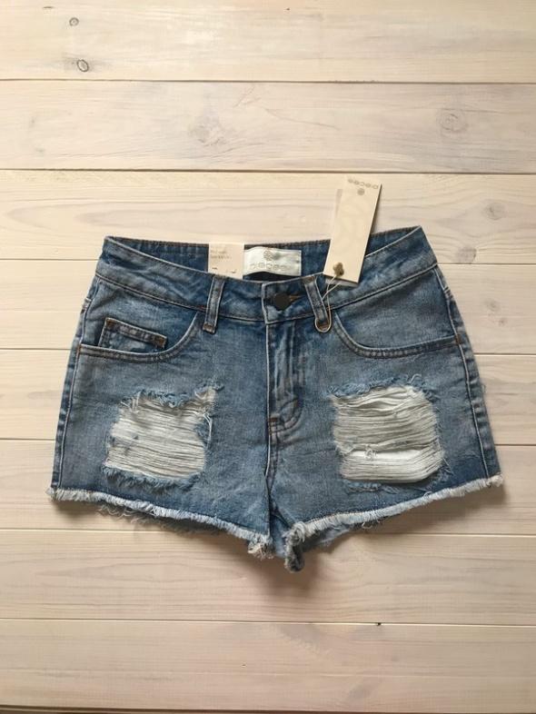 Spodenki nowe jeansowe pieces