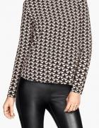 H&M śliczna i unikatowa bluzka koszulowa w koty XS...