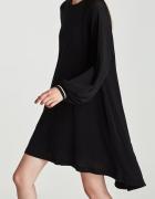 ZARA sukienka asymetryczna ze ściągaczami XS34...
